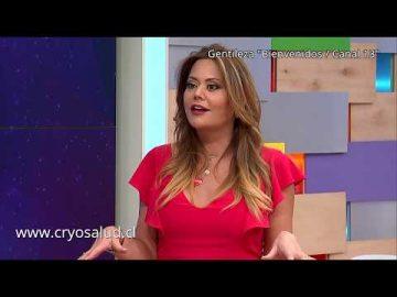Canal Cryo Salud : Daniella Campos en Bienvenidos