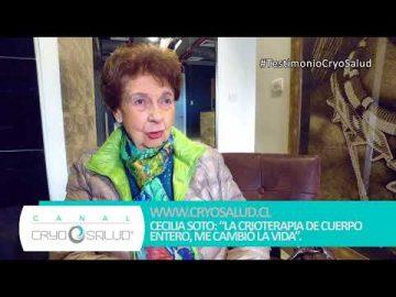 Canal Cryo Salud: Testimonio de Cecilia Soto